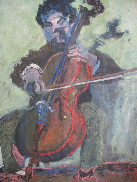 Bedarride  Fred  ( 1915-1984 )  Hst    tableau  double face