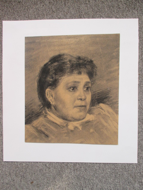 """portrait Of A Lady"" Drawing Nineteenth"