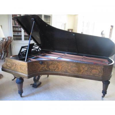 Piano 3/4 de queue  Pleyel