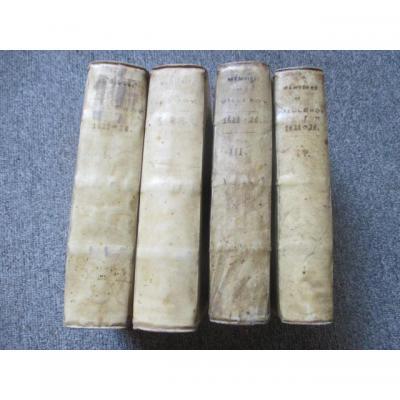 """"""" Memoires d'Estat """" Par Monsieur De Villeroy  1621-1626"""