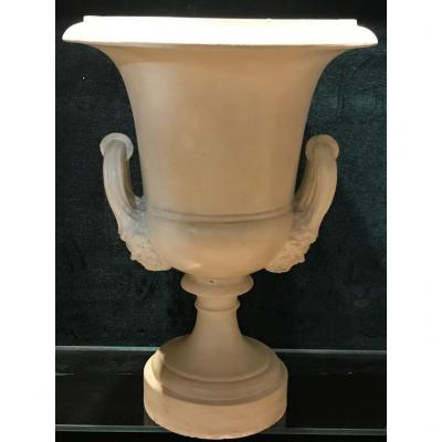 Vase Mediceo terre cuite Signa Toscane Fin XIXe Siècle
