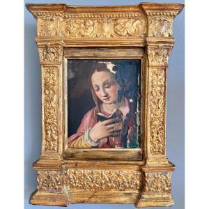 La Vierge  Lisant, Atelier De Andréa Del Sarto Vers 1517