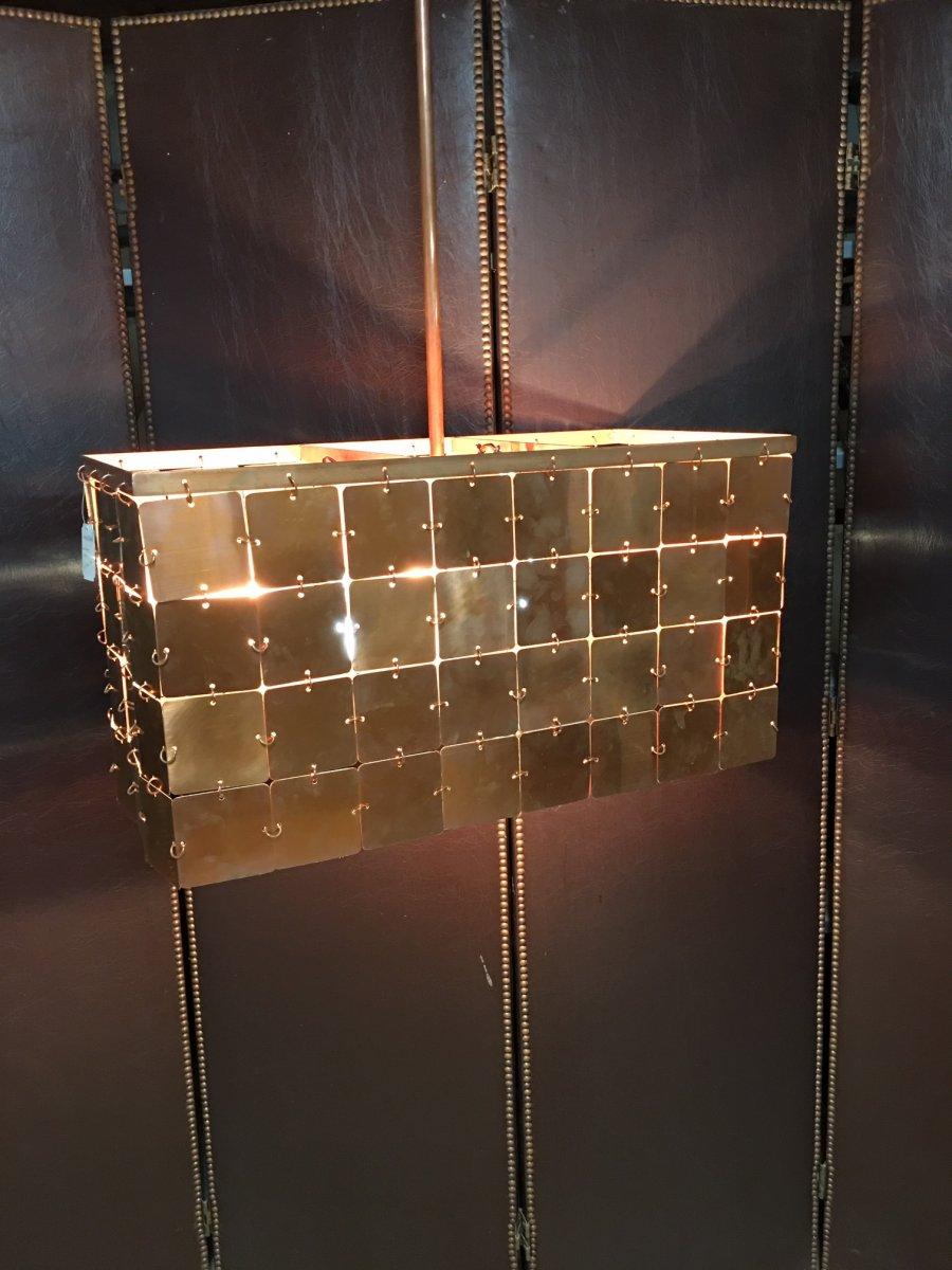 Copper Light Fixture