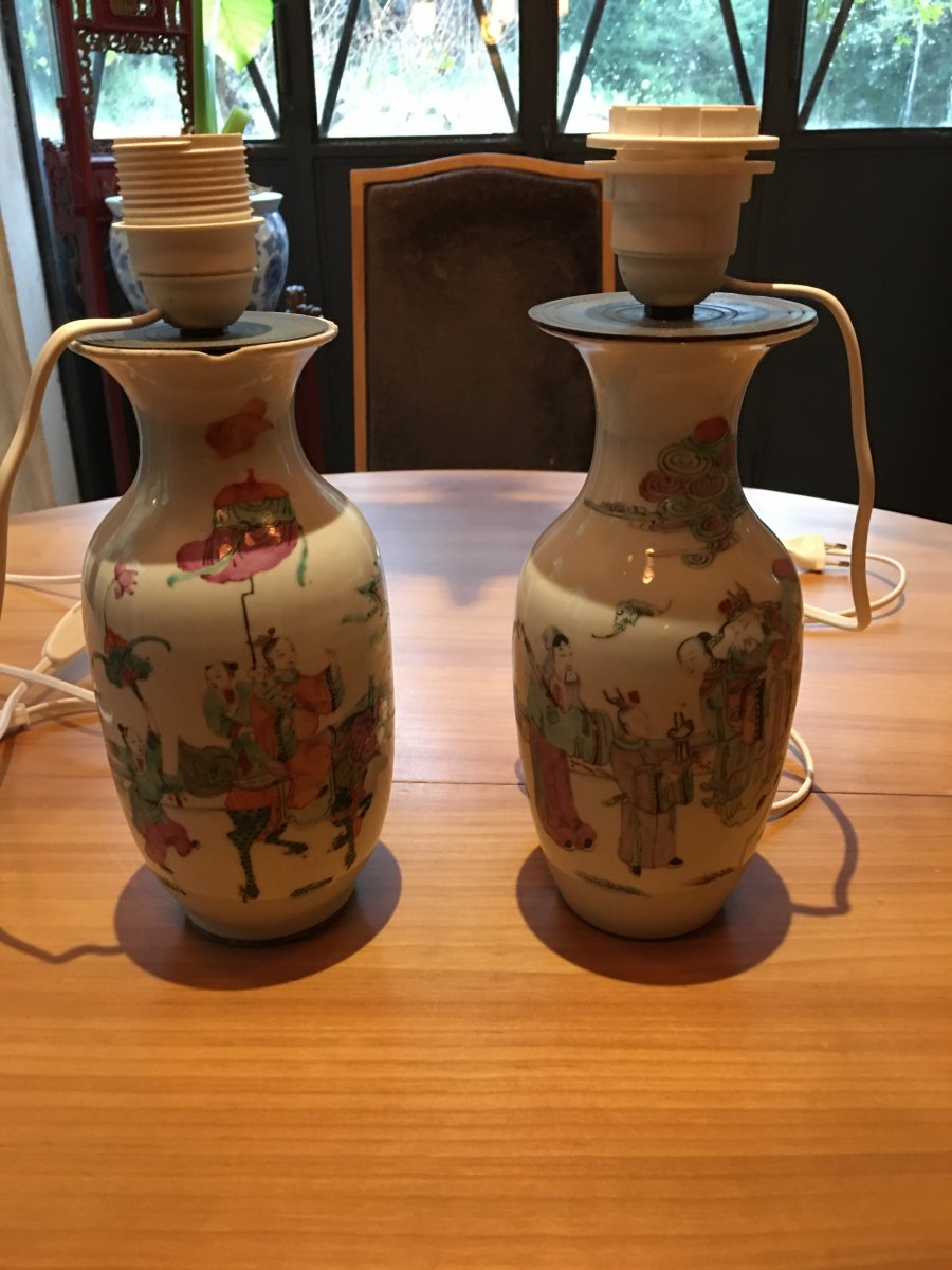 Pair Lamps China