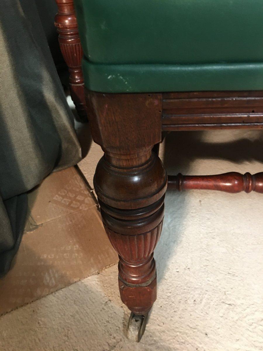 Series Of 8 English Chairs-photo-3