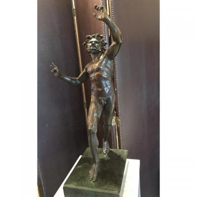 Faune En Bronze XIX