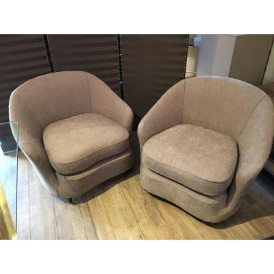 Pair Armchairs 1950