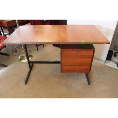 Bureau ancien sur proantic design ann es 50 60 for Meuble bureau ordo