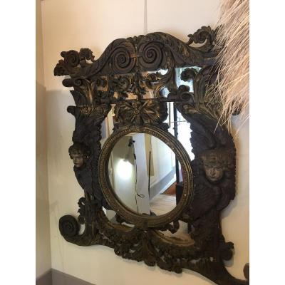 Miroir  18 Eme
