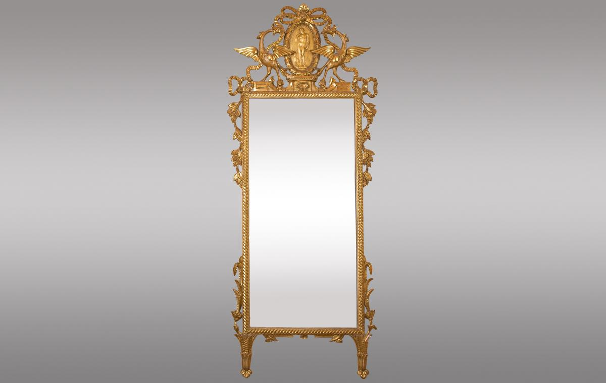 Tuscan Mirror Italy Dixhuitieme Siecle