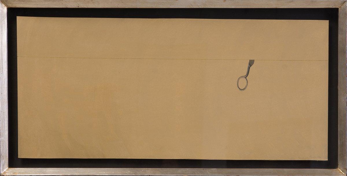 Joan Hernandez Pijoan (1931-2005) sans titre. Gouache et crayon sur papier. Signé et daté 1971
