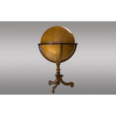 French Globe 1st Half Of The 18th Century