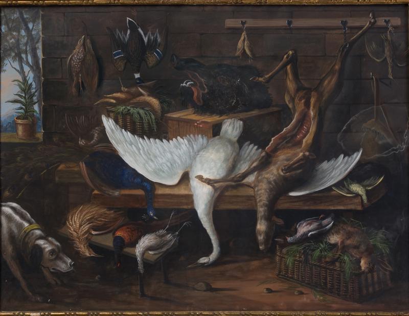Paire de Gouaches, Natures Mortes  école Hollandaise. Fin dixhuitiéme siècle. -photo-4