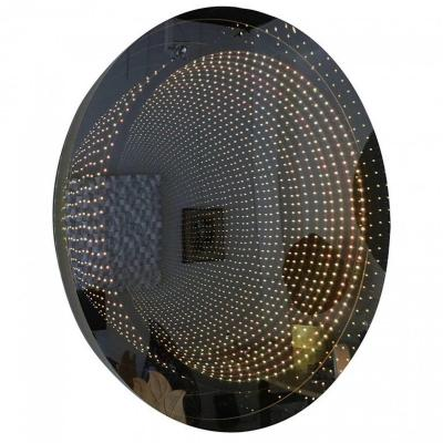 """""""infinite Mirror"""" By Raphael Fenice In Lucite, With Leds And Remote Control"""