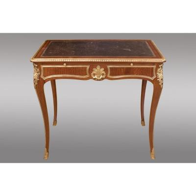Mahogany And Amaranth Writing Table
