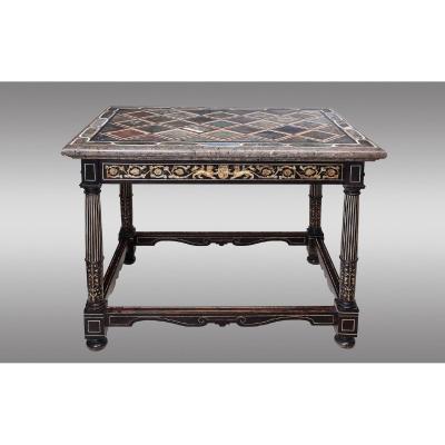 Italian Middle Table. 18th Century