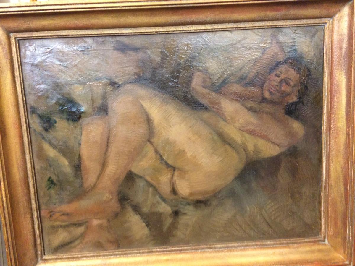 Nu,de Jo Vanhove,peintre Belge(1902-1956)