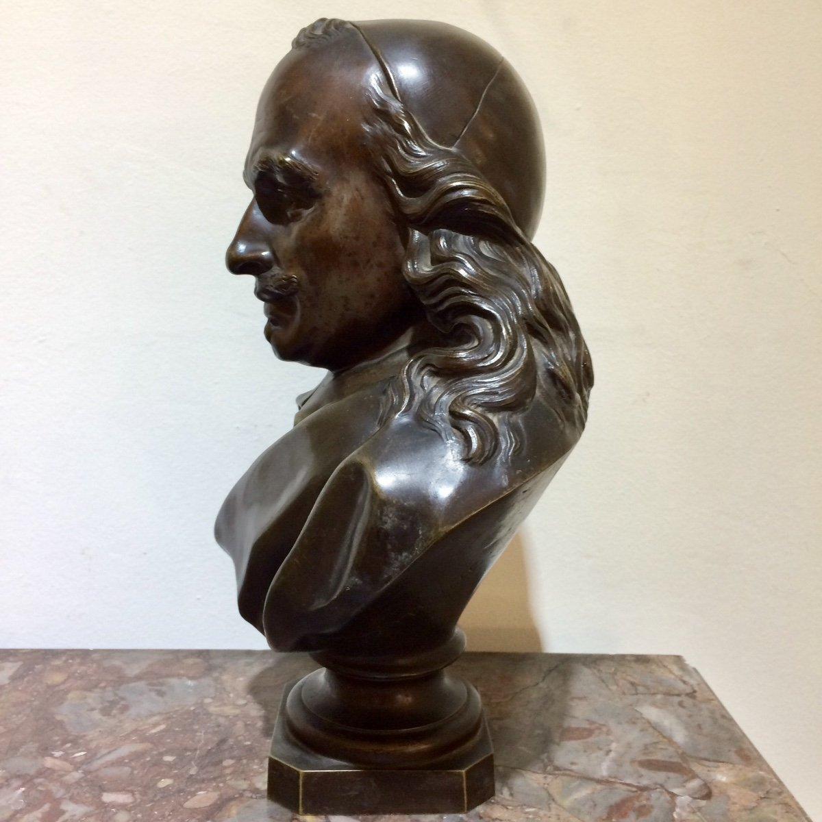 Corneille, Statue En Bronze De Désiré Marie-photo-3