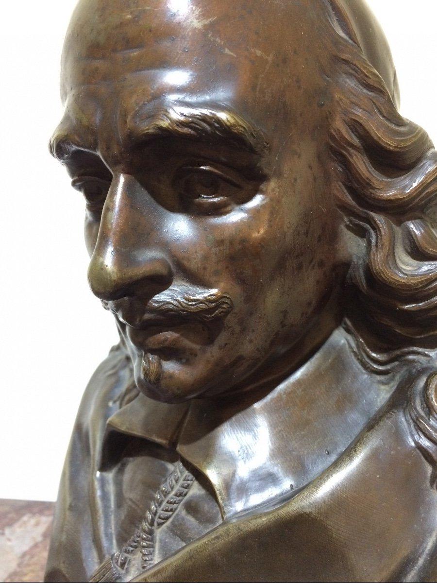 Corneille, Statue En Bronze De Désiré Marie