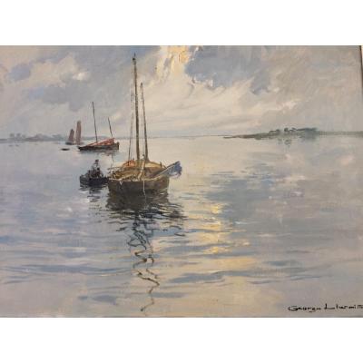 Georges Lhermitte: Sinagot, Golfe Du Morbihan