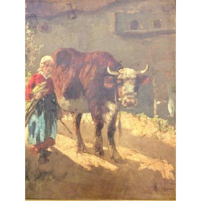 The Young Cow Keeper