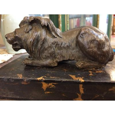 Lion, Bronze Clipboard