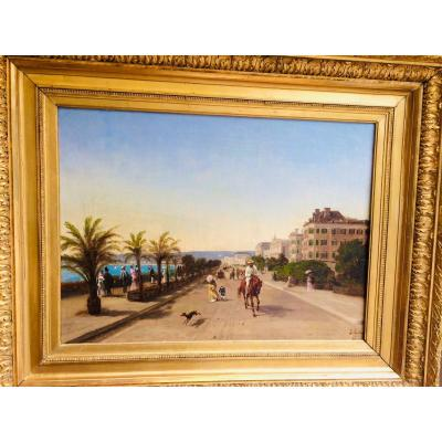 Nice, The Promenade Des Anglais, By Antoine Jubien