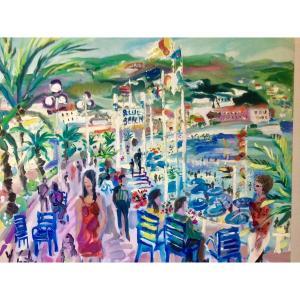 Yvon Grac, Nice, Les Baigneurs Du Blue Beach