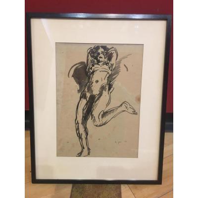 Pierre Combet-descombes (1885-1966) La Danseuse