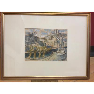 Emile Didier (1890-1965) Paysage