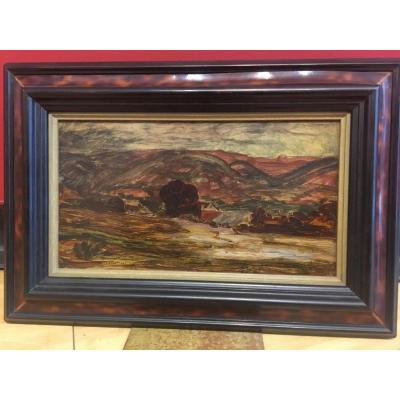 Auguste Morisot (1857-1951) Paysage