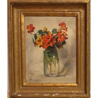 "ALEXANDRE-FRANÇOIS BONNARDEL (1867-1942) ""Fleurs"""