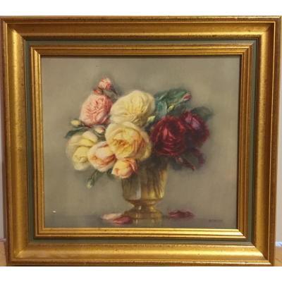 """Isidore Rosenstock (1880-1956) """"vase De Fleurs"""""""