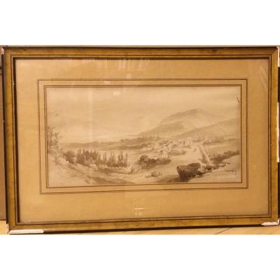 "Jean-jacques Champin (1796-1860) ""aix-les-bains"""
