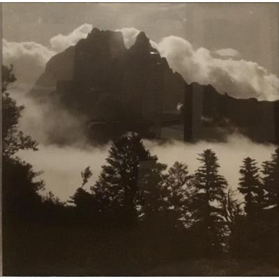 Rocky Peak Above The Mist