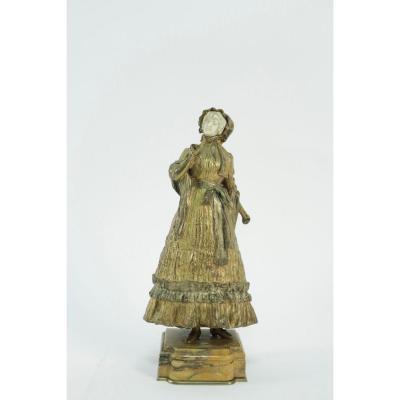 Bronze Chryséléphantine