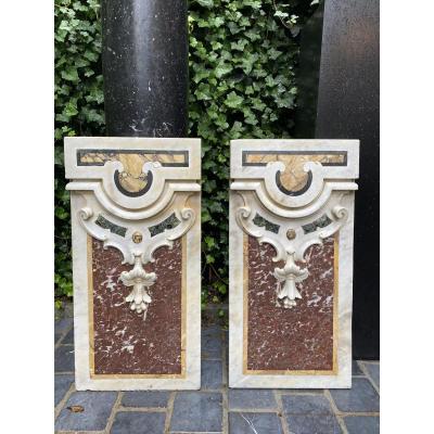2 Marble Panels