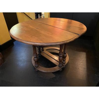 Pair Of Consoles Forming Table