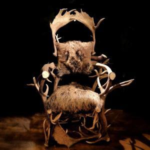 Deer Wood Armchair