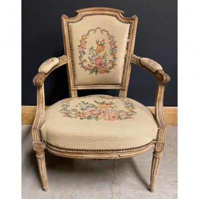 Fauteuil époque Louis XVI XVIIIeme Ancien