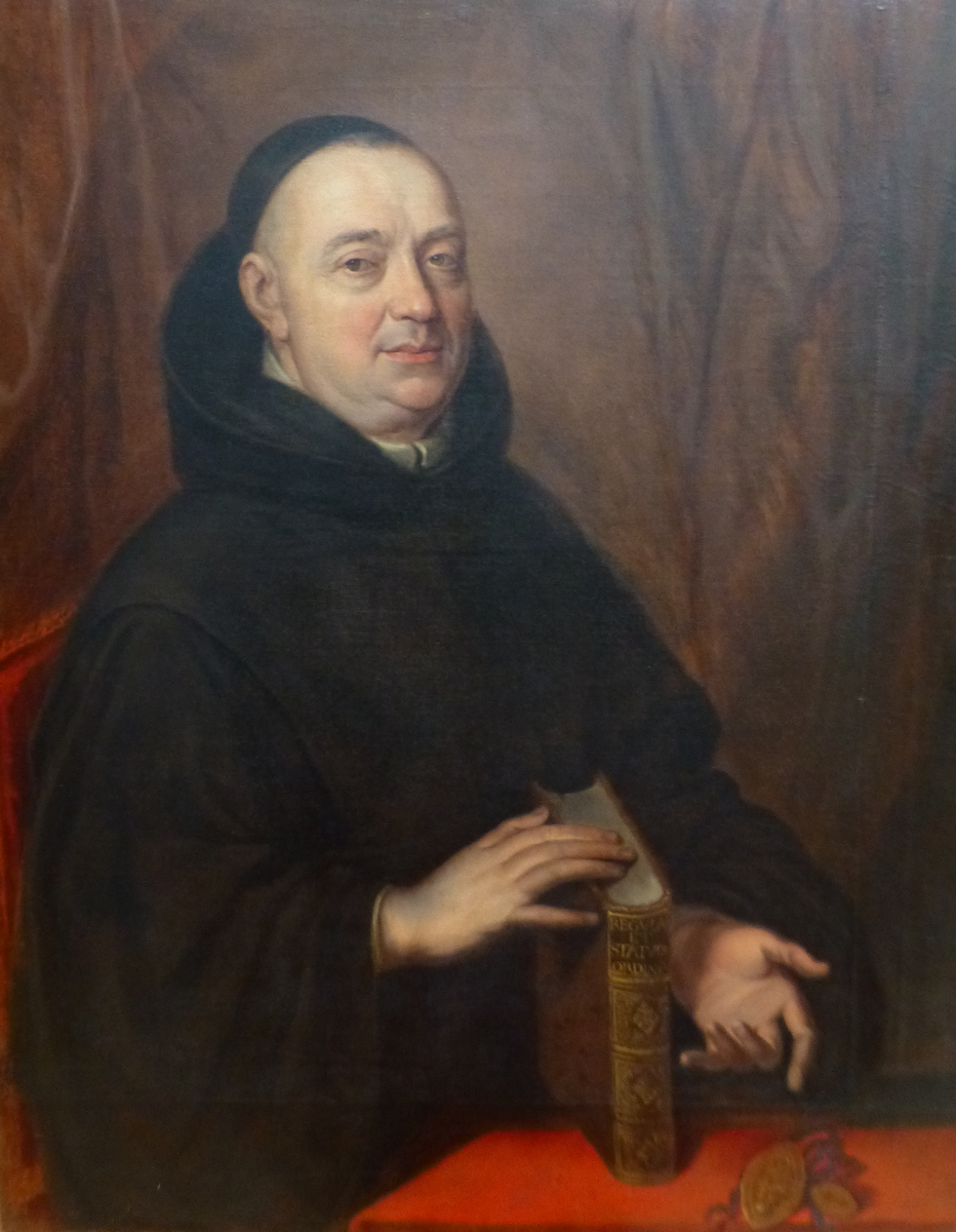 Nicolas Guerry (17th Century) Portrait Of A Benedictine, 168?