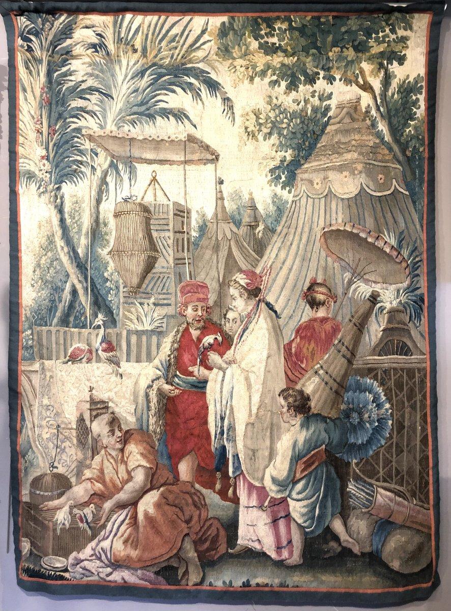 18th Century Louis XVI Beauvais Tapestry.