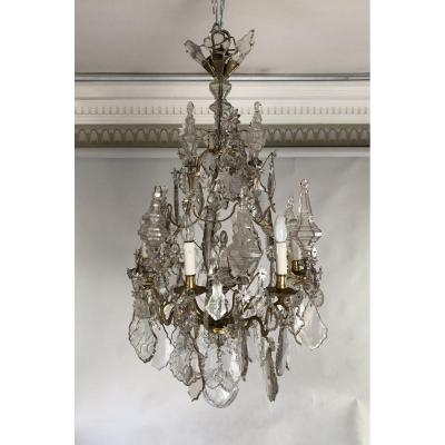 Cage Chandelier, Louis XV Period.