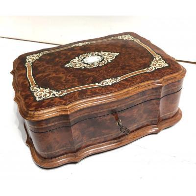 Napoleon III Period Jewelry Box.