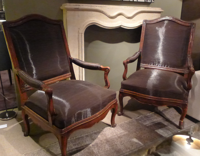 Pair Of Armchairs In Chassis