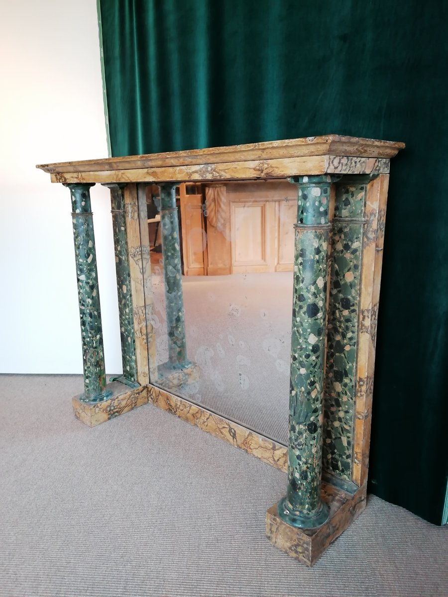 Empire Console With Detached Columns