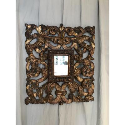 Miroir Baroque XVIIIème