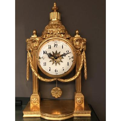 Louis XVI Portico Clock