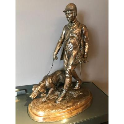 Bronze The Hunter And His Dog