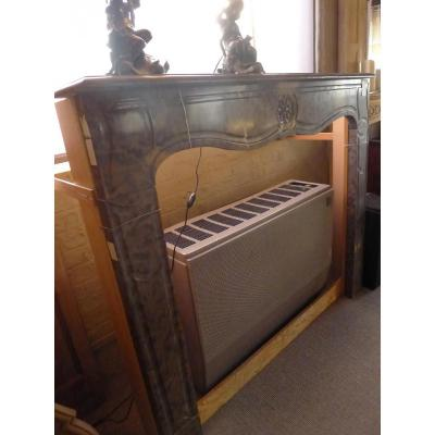 Marble Fireplace Marquise De
